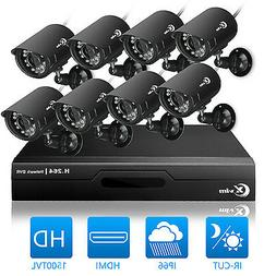 XVIM 8CH Home Security System Outdoor Surveillance Camera 19