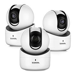 ANNKE  720p Wireless PT Camera, 1.0MP Wi-Fi Camera with 2-Wa