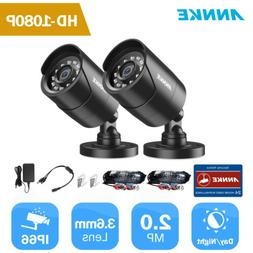 ANNKE 4x HD TVI 720P In/ Outdoor Home Security CCTV Cameras