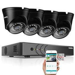 ANNKE 720P Dome Camera 8CH 1080N DVR Home Outdoor Indoor Sec