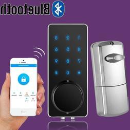 Bluetooth Smart Digital Door Lock Deadbolt Keyless Touch Pas