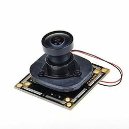 170 degree wide angle ccd wired mini