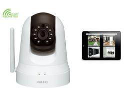 D-Link DCS-5020L HD Pan Tilt Wireless Security Camera HD Vid