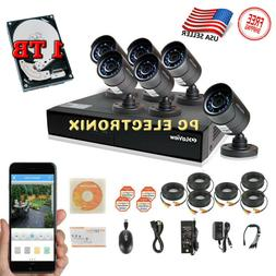 LaView 4 Camera 960H Security System, 4 Channel 960H DVR w/5