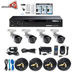 Lorex 4 Channel HD Analog DVR with 1TB HDD, 4x1080p Cameras