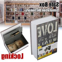 M Home Security Dictionary Book Safe Piggy Bank Storage Numb