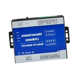 M210T Modbus TCP Ethernet IO Module 4 CH Analog Input for Ho