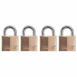 Master Lock 120Q Keyed-Alike Wide Padlocks, 3/4-inch, Solid