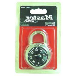 Master Lock 1500D Black Combination Padlocks