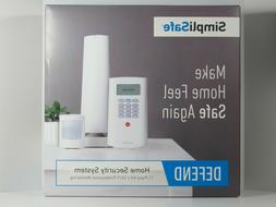 SimpliSafe - Defend Wireless Home Security System - White
