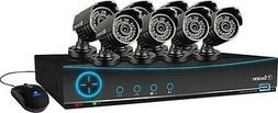 Swann - Pro-series 9-channel, 8-camera Indoor/outdoor Survei