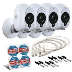 Swann Smart Security Camera 4 Pack : 4x 1080p Full HD Wirele