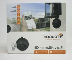 TOUCAN WIFI Outdoor Security Camera, Powered By Your Light F