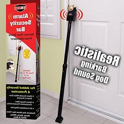 "U.S. Patrol JB5322 Alarm Security Bar extends from 29"" to 43"