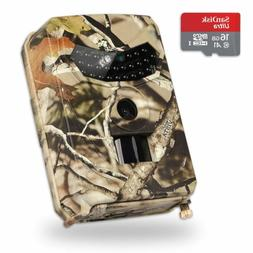 Wildlife Hunting Trail Game Camera Home Security Low Glow LE