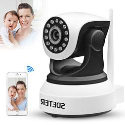 Wireless Pan Tilt 720P Security Network CCTV IP Camera Night
