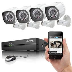 Zmodo SPoE Security System - 4 Channel NVR & 4 x 720p IP Cam