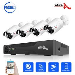 ANRAN AHD Home Camera Security System 1080P CCTV HDMI Net P2