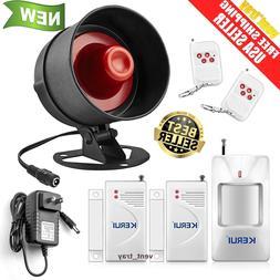 Alarm System Siren Security Remote Wireless Motion Sensor Do
