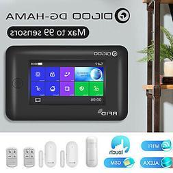 Digoo APP GSM WiFi GPRS 433MHz DIY Wireless Smart Home Secur