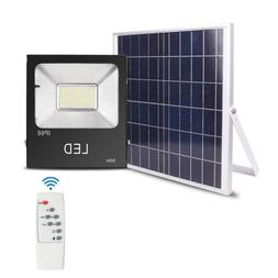 Brand New 150W LED Solar Powered Security Floodlight Home Ga