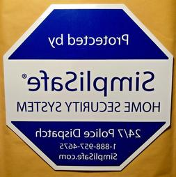 BRAND NEW SimpliSafe Home Security Alarm System Yard Sign