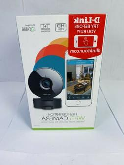 Brand New Sealed!!! D Link High Definition Wi-Fi Camera- Fas