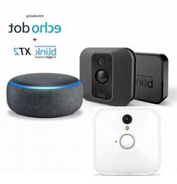 Bundle deal blink XT2 home security 2 camera system With Ech