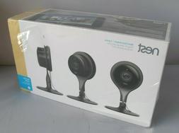 Nest Cam Indoor 3 Pack Black Security Camera