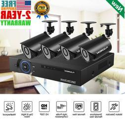 EKOG 4CH Home Security Camera System 1080N HDMI HD 4*720P CCTV DVR IR Vision USA