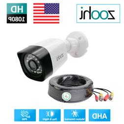 "HD 1200TVL CCTV Camera Home Security Color IP66 1/2.7"" Night"