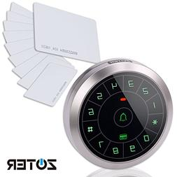ZOTER Circular Metal Access Control EM ID 125Khz Password Wi