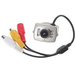 CMOS Security Hidden Camera CCTV Home Surveillance with 6-IR