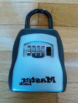 Master Lock Combination Key Storage Box Portable Home Securi