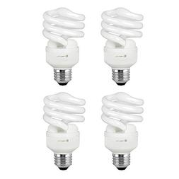 Compact Fluorescent Light Bulb T2 Spiral CFL, 2700k Soft Whi