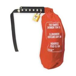 Control Lockout Cover, Nylon Bag, Red
