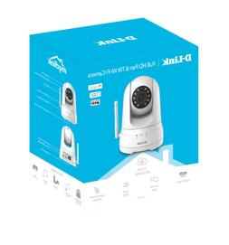 D-Link Full HD 1080P Pan &Tilt Wi-Fi Security Camera Recordi