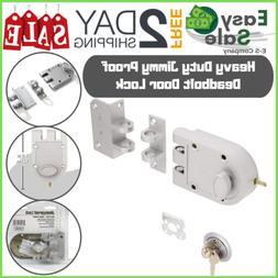 deadbolt door lock single cylinder key entry