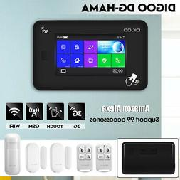 DIGOO DG-HAMA 3G Touch Screen Smart Home Security Alarm Syst