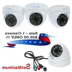 Dome Security Camera HD Home Video Surveillance 4 in 1 CCTV