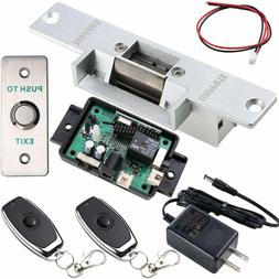 UHPPOTE Door Access Control Kit with Electric Strike Lock Re
