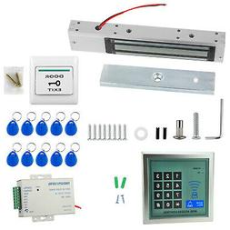 Door Access System 280kg 617lbs Electric Magnetic Lock RFID