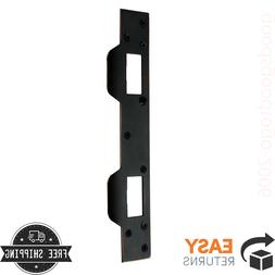 Door Latch Strike Plate Aged Bronze For Wood Or Metal Home R