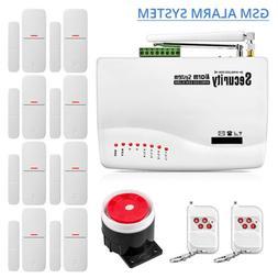 Door/Window Anti-theft Alarm Kit Wireless GSM Alarm System H