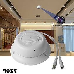 Dummuy Fire Alarm Side View Spy Camera with HD Home Security
