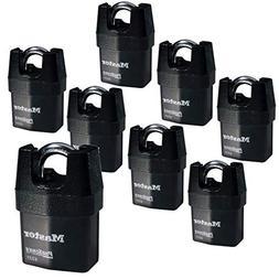 Master Lock - Eight  High Security Pro Series Padlocks 6321N