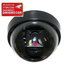 VideoSecu Fake Dummy Imitation Dome Security Camera with Fla
