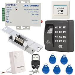 Fingerprint & RFID ID Card Reader Access Control System Kit