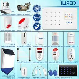 KERUI G18 GSM Home Burglar Security Alarm System Wireless Ac