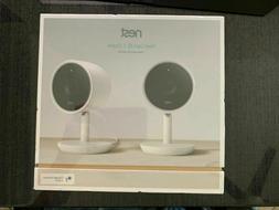 Google Nest Cam IQ Indoor Security Camera 2 Pack NC3200US FA